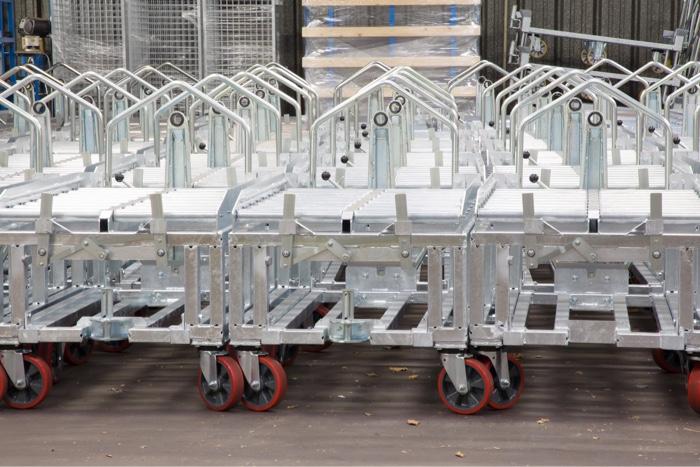 Chariots de manutention et bases roulantes