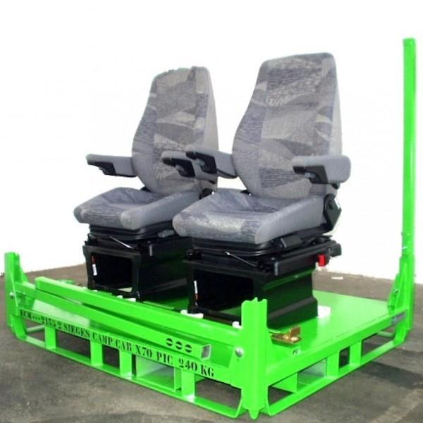 Container pour sièges de Camping Car