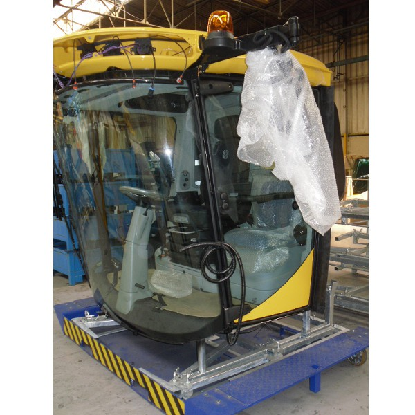 Container galvanisé pour châssis