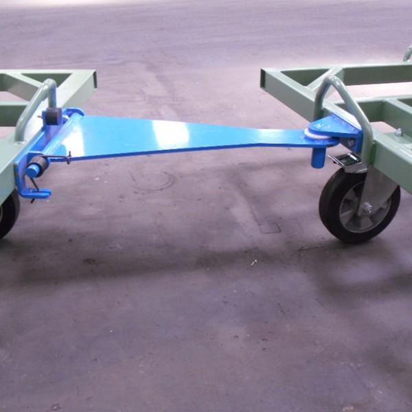 Chariot petit train pour palette 1200x1000